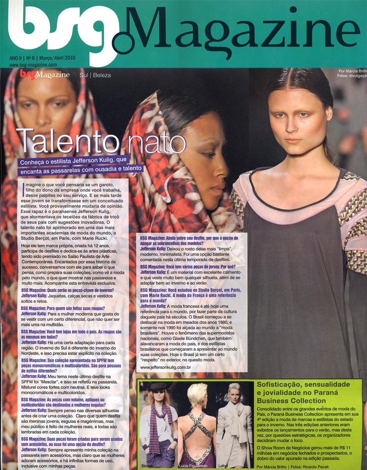 bsg Magazine - Jefferson kulig
