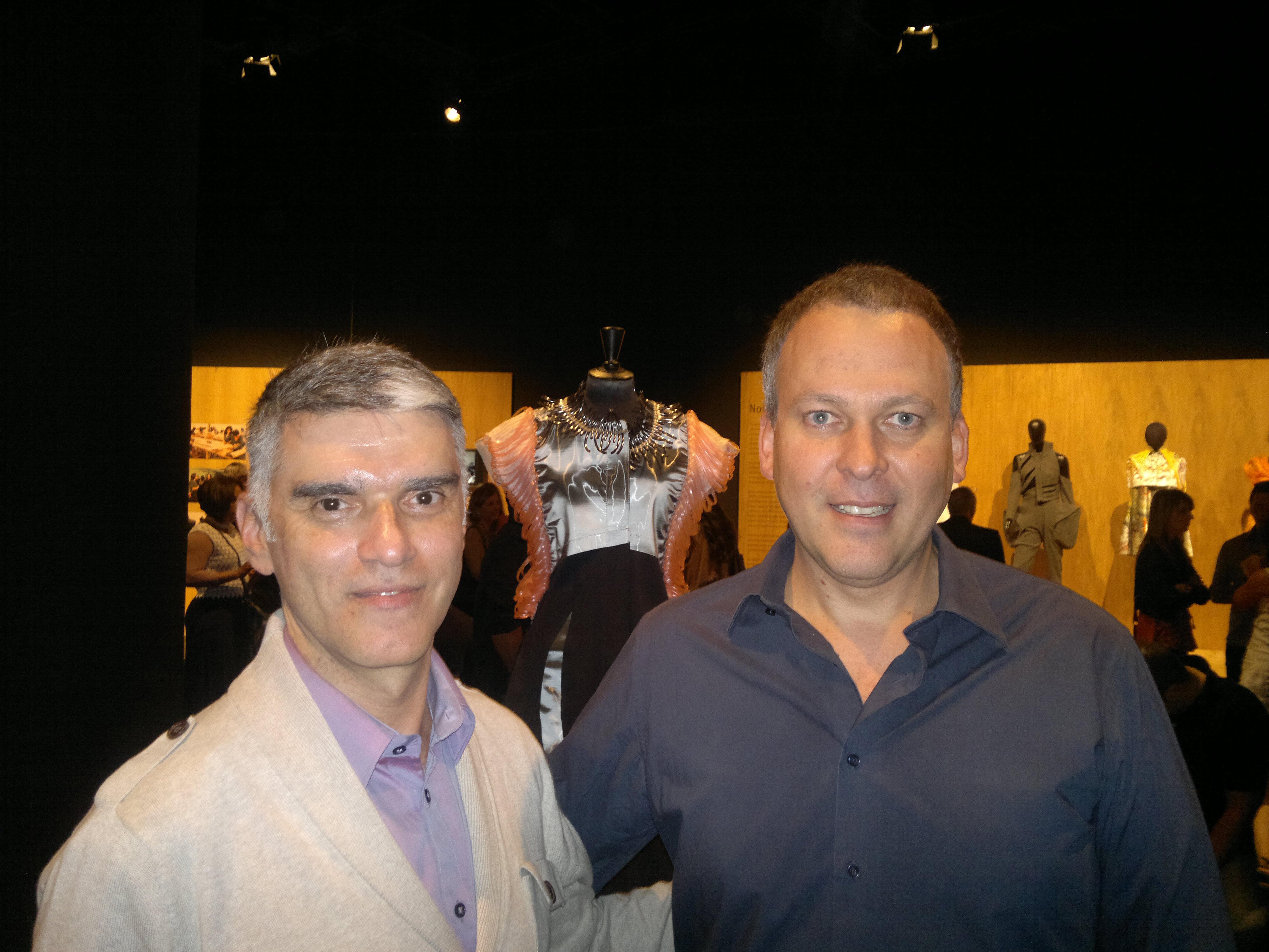 Jefferson Kulig com o Prof. João Braga