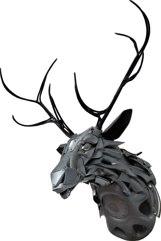 4 deers-head