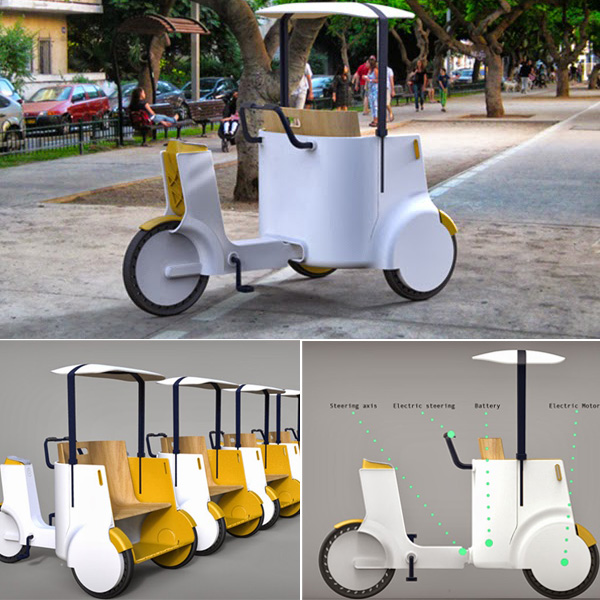 Eco Táxi – Bicicleta elétrica se transforma em solução para táxis nas cidades!