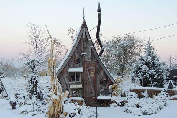 Casas charmosas que parecem ter sido tiradas dos filmes
