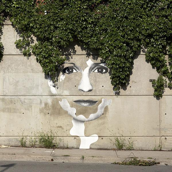 Artes Urbanas que interagem com a Natureza