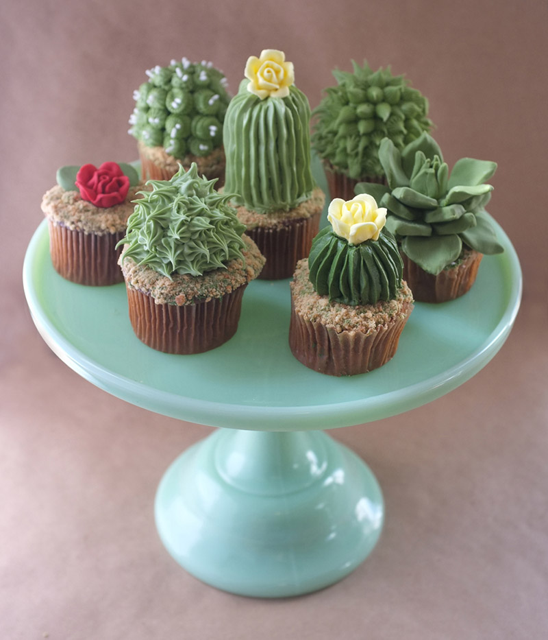 cupcakes-com-formatos-de-mini-cactos-blog-usenatureza