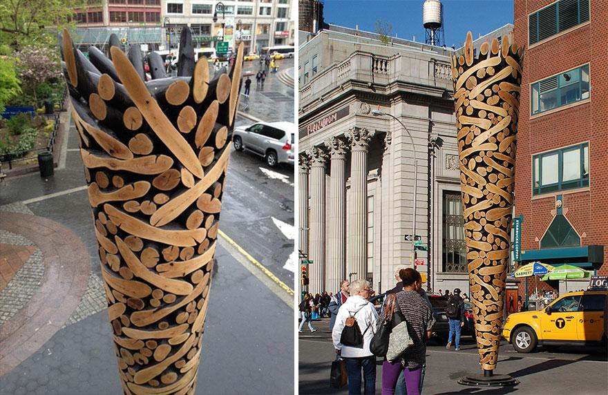 artista-cria-esculturas-com-troncos-de-arvore-descartadas-jae-blog-usenatureza