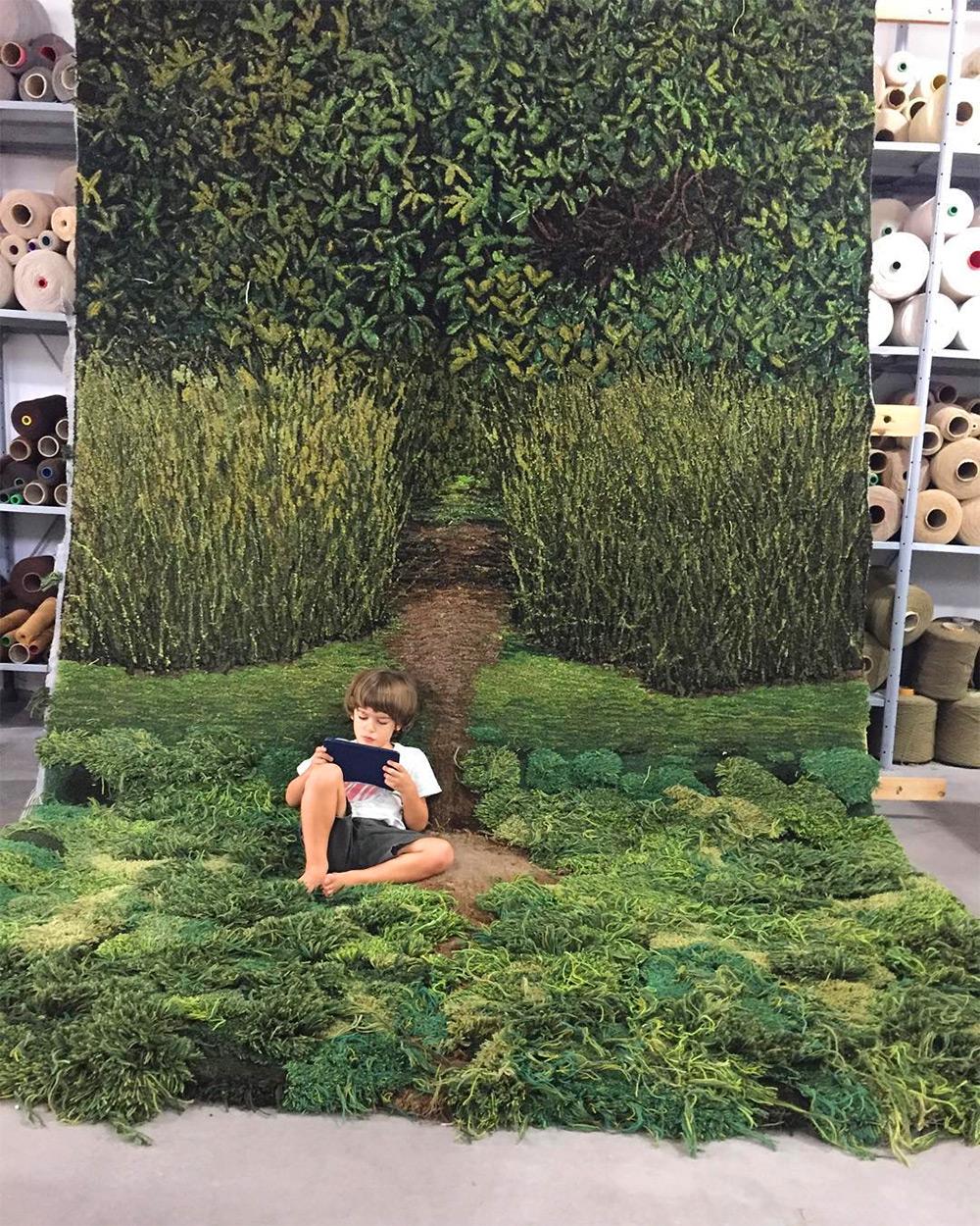 artista-cria-tapetes-inspirados-na-natureza-blog-usenatureza