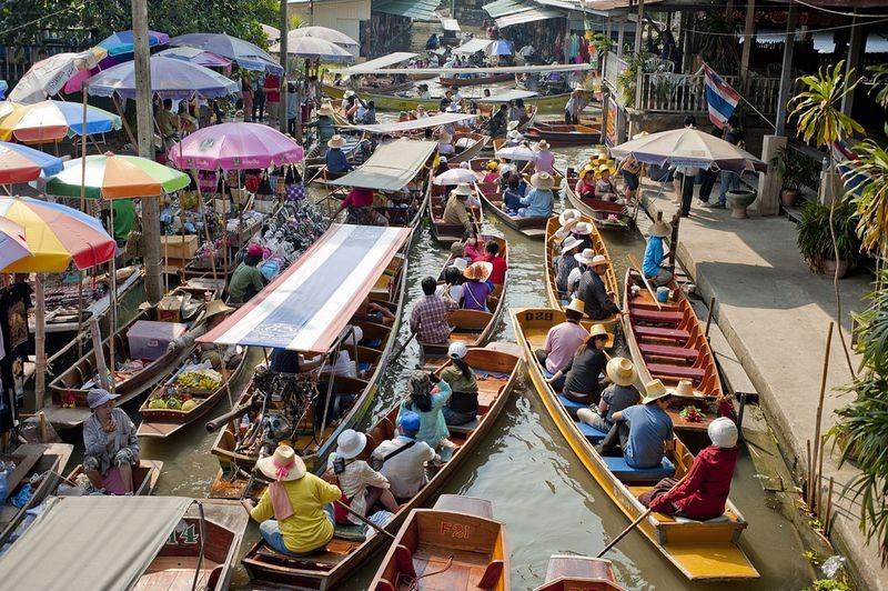 os-mercados-flutuantes-do-sudeste-asiatico-bangkok-blog-usenatureza